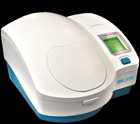 QBC STAR Point of care Instrumento de Hematología seca